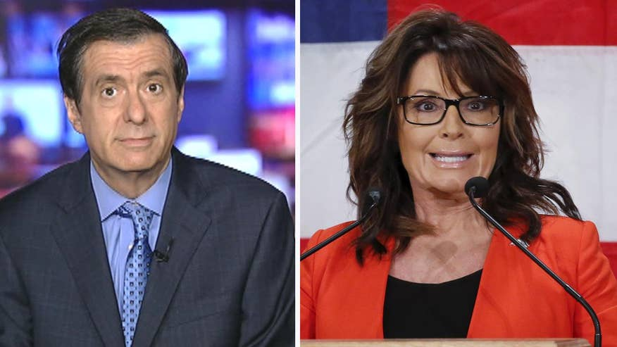 'MediaBuzz' host Howard Kurtz weighs in on Sarah Palin's lawsuit against the New York Times after their editorial linking her to the Gabrielle Giffords shooting