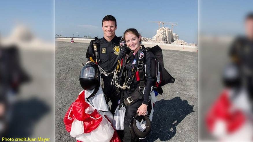 Matt and Jen Davidson joined the Army Golden Knights to enjoy their passion for skydiving but ended up finding much more
