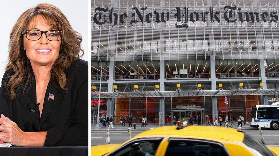 Former Alaska Governor and VP candidate Sarah Palin is suing the New York Times for defamation over an editorial tying her to the shooting of Gabrielle Giffords in 2011
