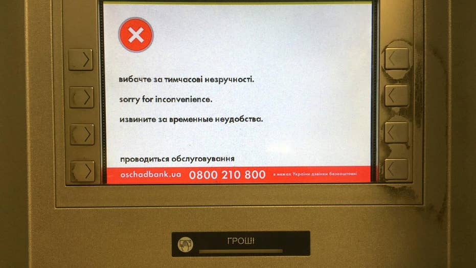 Petya ransomware virus infects computers worldwide
