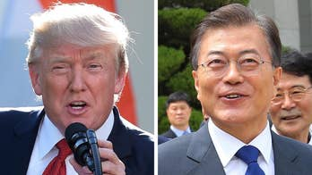 The two world leaders will discuss North Korea