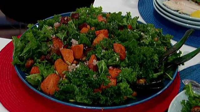 Cooking with 'Friends': Gerri Willis' kale salad
