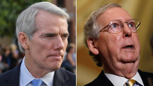 McConnell and Portman get into heated argument over Medicaid