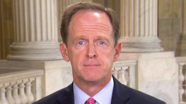 Toomey: Misinformation about GOP health care bill has worked