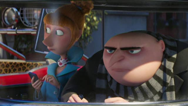Steve Carell, Kristen Wiig get animated in 'Despicable Me 3'