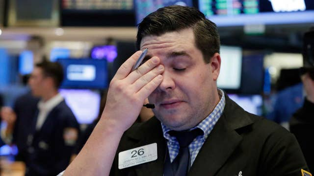 Call it a tech wreck on Wall Street