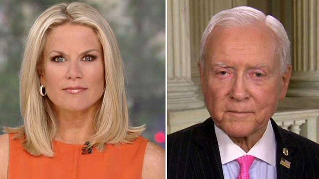 Sen. Orrin Hatch calls for civility on Capitol Hill
