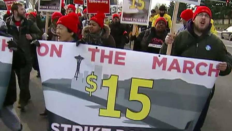 Research shows the wage boost hurts lower income workers; Dan Springer reports on 'Special Report'