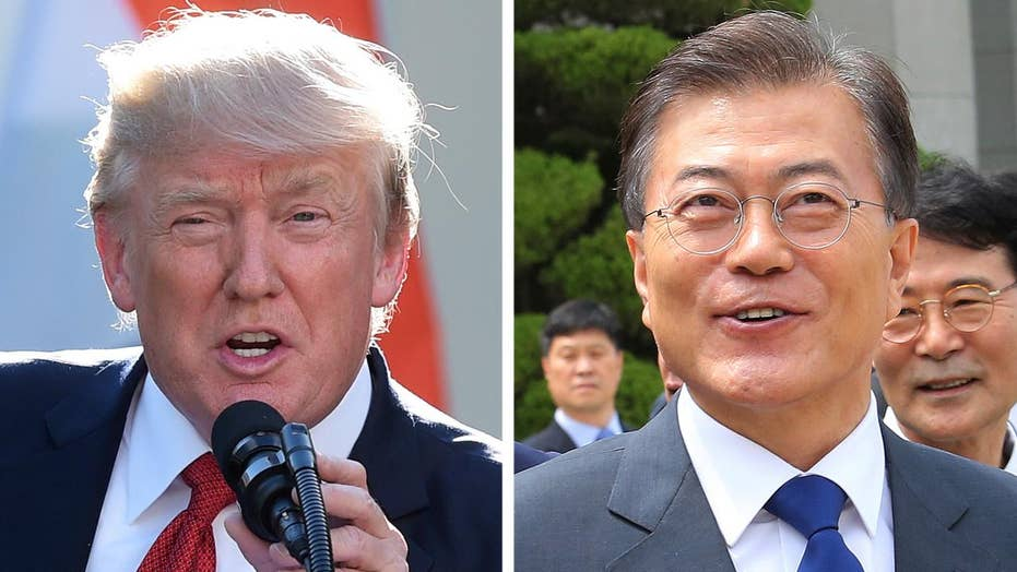 Trump to meet with South Korea's President Moon Jae-in