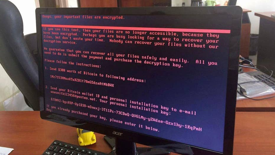 Unclear whether money was motive behind Petya malware