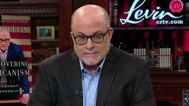 Mark Levin: Good to know where liberals finally draw a line