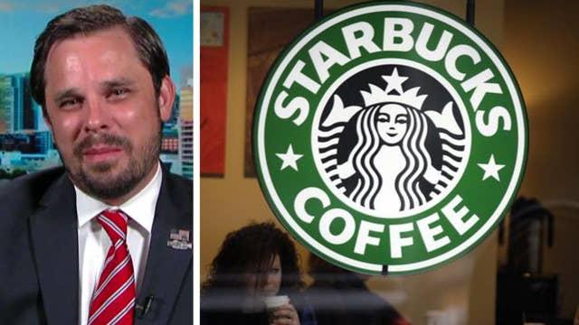 Trump supporter talks organizing Starbucks sit-in
