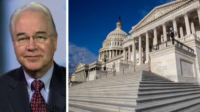 HHS Secretary Price talks breaking health care deadlock