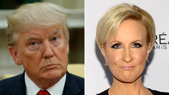 MSM lashes out over Trump's tweet about MSNBC host