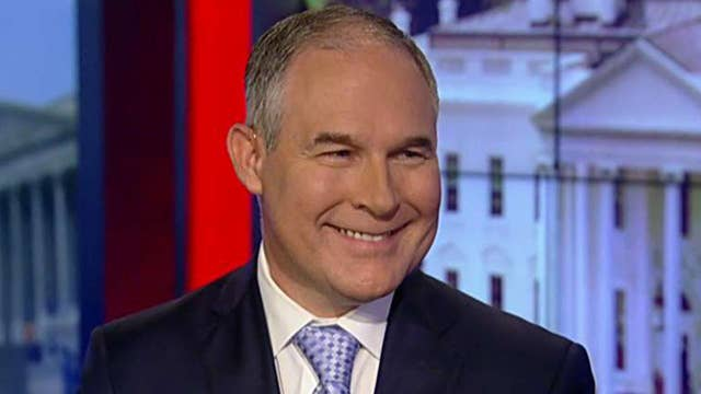 Pruitt on expected pushback at G20 over Paris accord exit