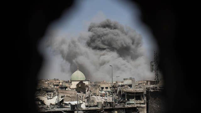 Iraqi PM declares end of ISIS caliphate in Mosul