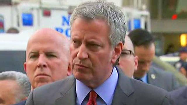 De Blasio: Bronx shooting was isolated incident, not terror