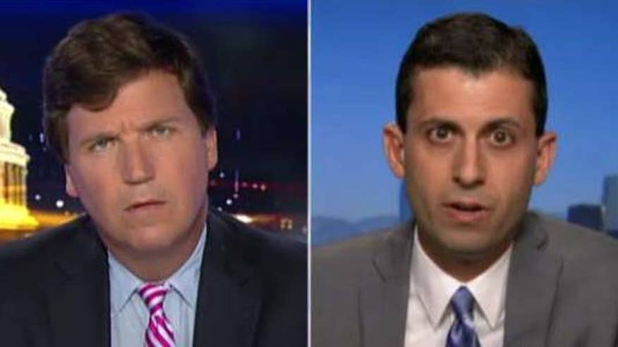 The House passed Kates Law, as part of illegal immigrant crackdown - and not everyone is happy about it. Tucker tangles with one opponent of the new law #Tucker