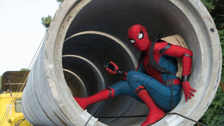 Michael Tammero goes in the Foxlight with the cast of 'Spider-Man: Homecoming'