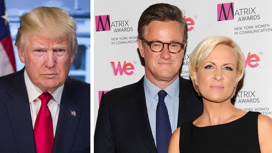 Hollywood stars react to Trump-'Morning Joe' feud