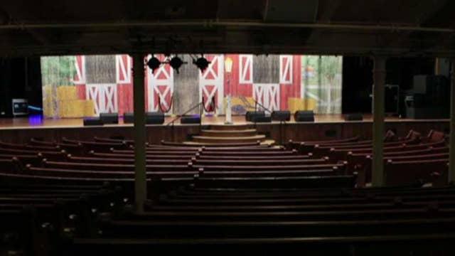 Touring Nashville's historic Ryman Auditorium