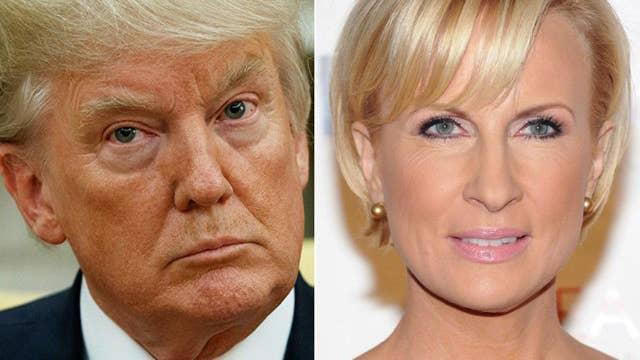 Trump stirs Mika maelstrom