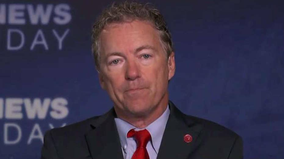 Sen. Rand Paul on push to repeal then replace ObamaCare