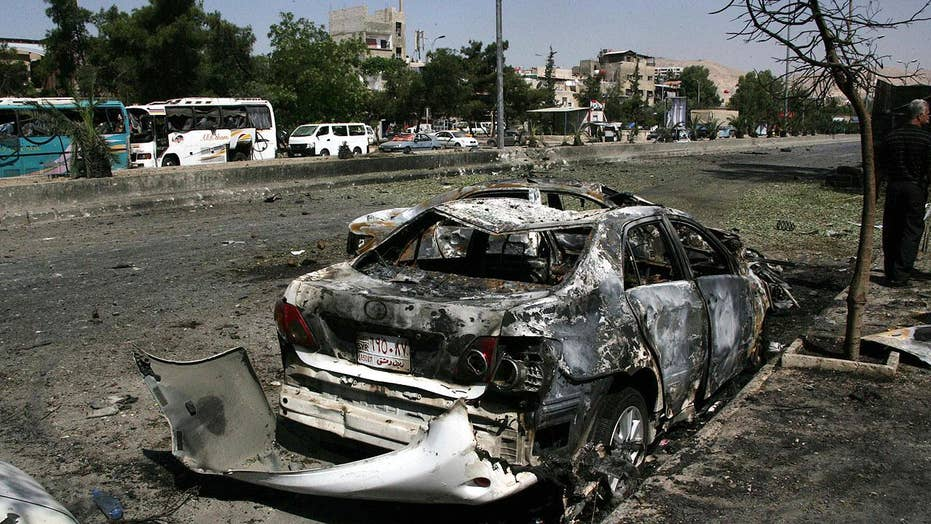 Deadly car bombing in Syrian capital Damascus