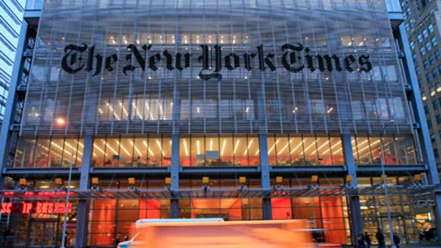 New York Times prints 'annotated' US Constitution