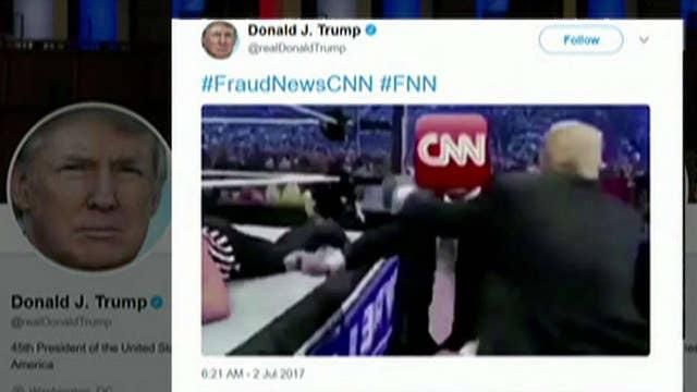 Mainstream media melts down over Trump's tweet