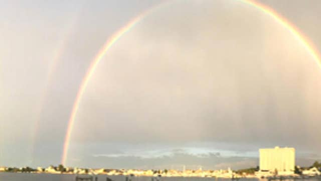 After the Show Show: Double rainbow