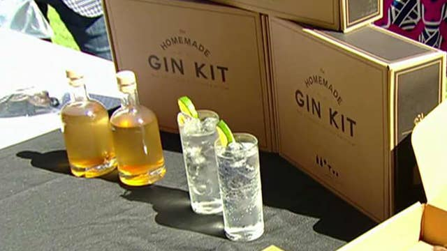 Homemade gin kit is made in America