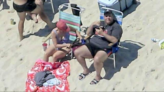 Gov. Christie burned for spending time at the beach