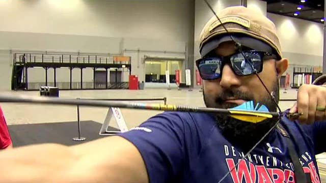 Veteran athletes find new challenges at the Warrior Games