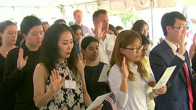 Proud American: Meet some of America's newest citizens