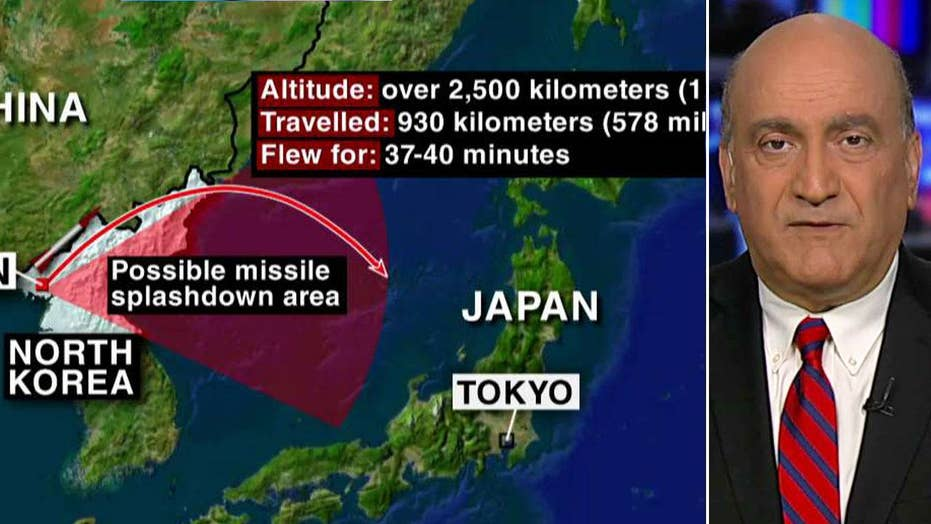 Potential US strategies against North Korea's missiles