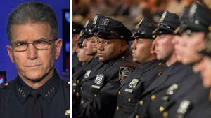 Reaction after New York City cop is shot dead while sitting in patrol car