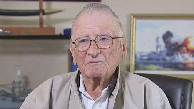 USS Arizona survivor seeking recognition for rescuer