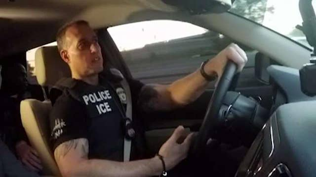Exclusive firsthand look at ICE raids