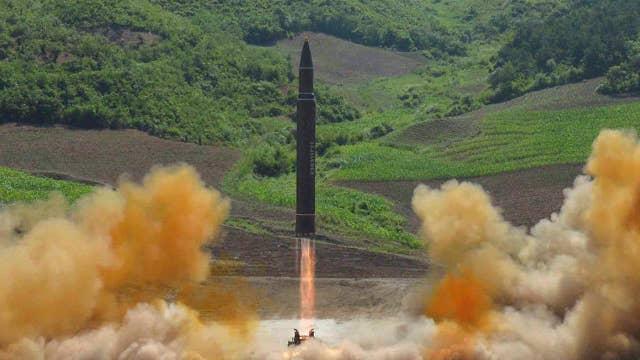 N. Korea claims first long-range missile