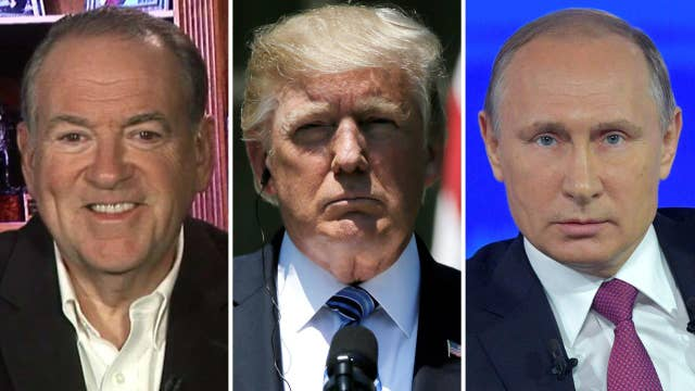 Huckabee: Trump, Putin will be sizing each other up at G20
