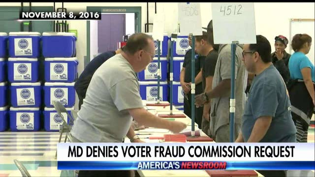 Maryland AG rejects voter fraud request