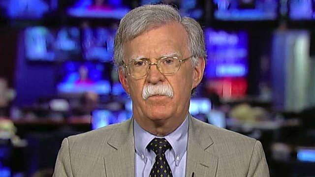 John Bolton calls for 'sweeping' set of sanctions on China