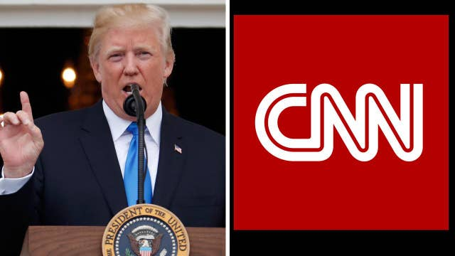 Did CNN threaten creator of Trump wrestling video?