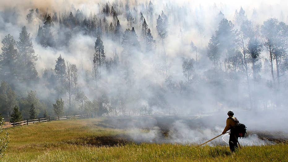 Perfect wildfire conditions fueling fires across Southwest