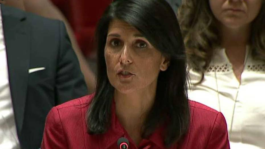 Nikki Haley on NKorea: Time is short, action is required