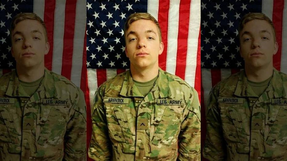 Pentagon identifies US soldier killed in Afghanistan