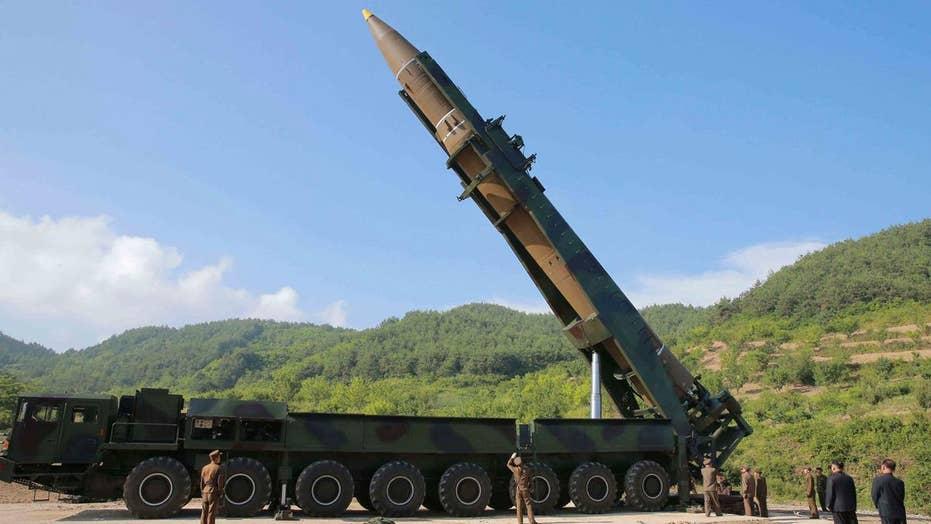 Pentagon explains why it didn't shoot down North Korean ICBM