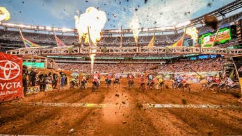 The popularity of Supercross is growing. Take an exclusive behind-the-scenes look at what it takes to create a Monster Energy Supercross track for those high-flying super-bike races