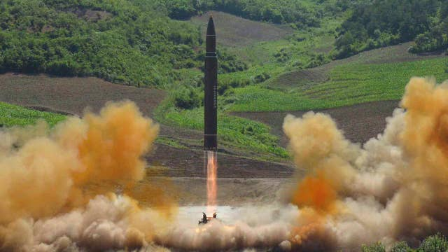 Tensions rising with North Korea following ICBM test